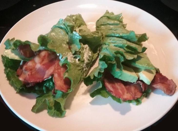 bacon-lettuce-wrap